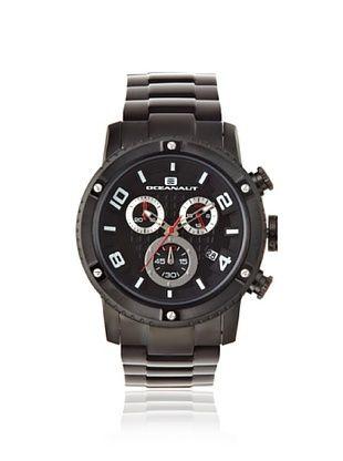 81% OFF Oceanaut Men's OC3124 Impulse Black Stainless Steel Watch