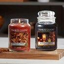 Månadens doft för oktober 2017 är Cinnamon Stick och Autumn Night. Två härliga dofter som inbjuder till friska höstkvällar med lavendel och kanel som skapar en lugnande hemkänsla. Njut av hösten med tända ljus och mys under filten! #YankeeCandle #MånadensDoft #CinnamonStick #AutumnNight #TändLjus #HöstMys