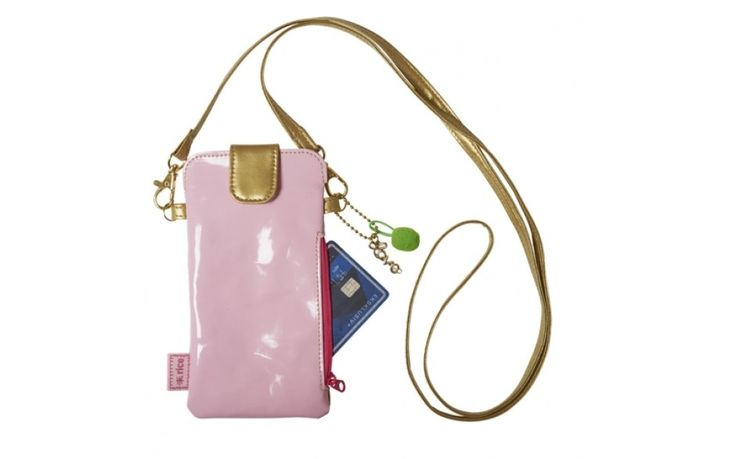 Mobile phone purse Pink RICE