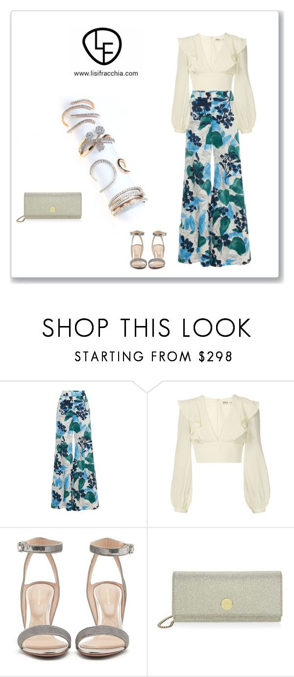 """""""Sin título #867"""" by bv-b ❤ liked on Polyvore featuring AMUR, Nicholas Kirkwood and Jimmy Choo"""
