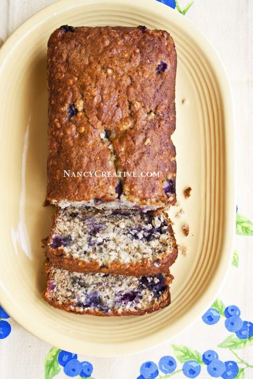 Blueberry-Oat Quick Bread Recipe — Dishmaps