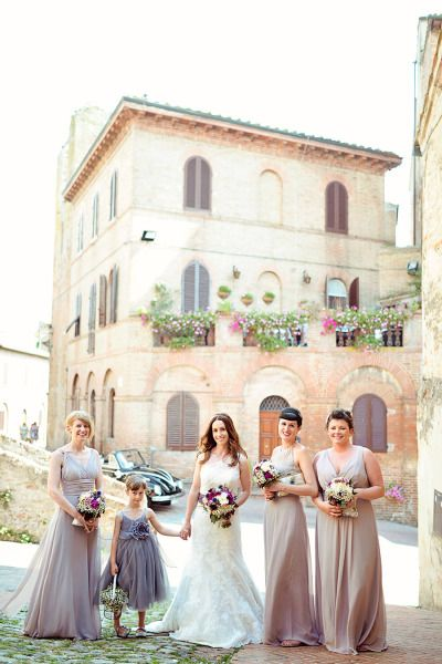 A purple themed Tuscany wedding: http://www.stylemepretty.com/little-black-book-blog/2014/12/12/elegant-summer-tuscan-wedding/ | Photography: Emm & Clau - http://emmandclau.com/