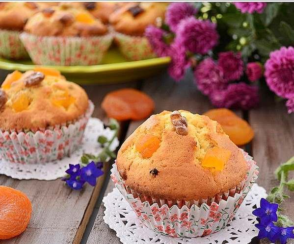Kuru Kayısılı Top Kek Nasıl Yapılır
