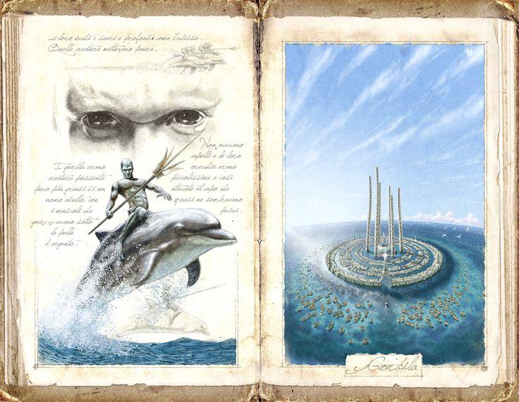 Fantastic travel and travelers - by Claudio Prati