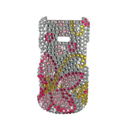 Buy For Boost Mobile Samsung Factor M260 Accessory - Hawaii Flower Full Rhinestones Hard Case Proctor Cover NEW for 5.9 USD | Reusell