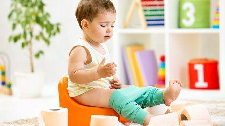 <b>POTTETRENING:</b> Det å skulle slutte med bleier kan virke uoverkommelig, men ifølge denne seksbarnsmoren kan det gjøres veldig enkelt.