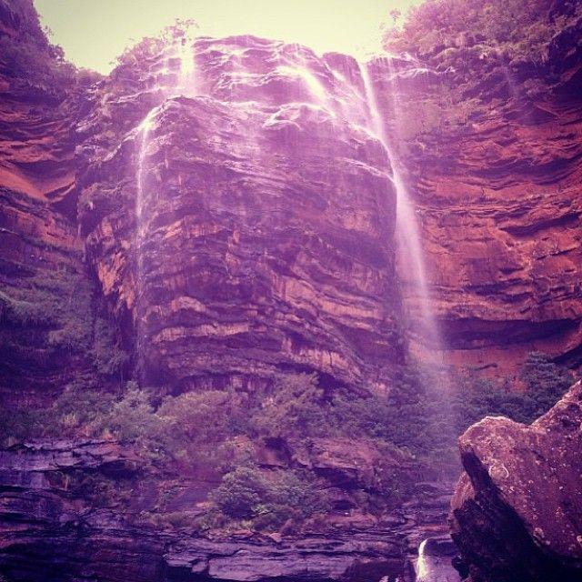 #wentworthfalls in the #bluemountains #nsw #australia. Image taken by #lonelyplanet staffer @elly_alyssa_jones. #travel