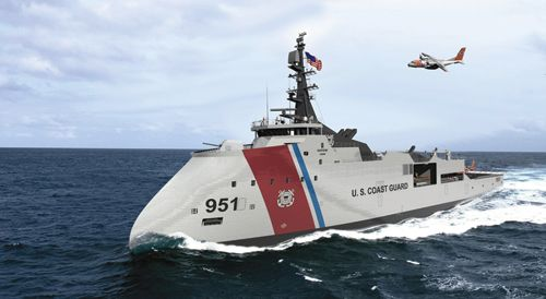 Largest Ships in the Future | New Coast Guard Cutter Sparks Fierce Competition Among Shipbuilders