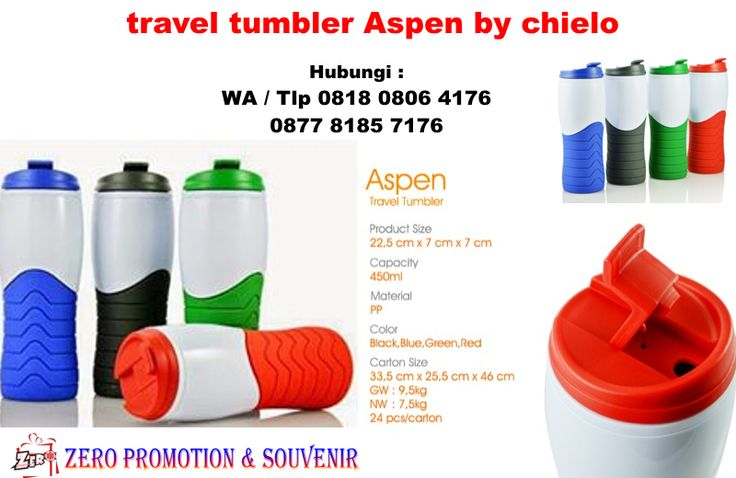 Jual Tumbler promosi - travel tumbler Aspen by chielo