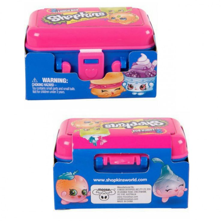 Shopkins Season 7 Food Fair 2 Shopkins in a Lunch Box Mystery Blind Packs ×12 by Moose Toys - #56553