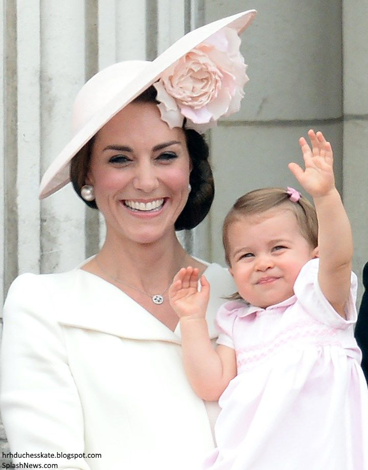 Catherine and Charlotte - Trooping the Colour, June 2016