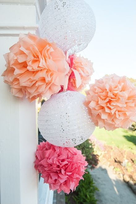 17 best images about crepe paper decorations on pinterest for Decor using crepe paper
