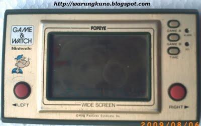 gamewatch popeye
