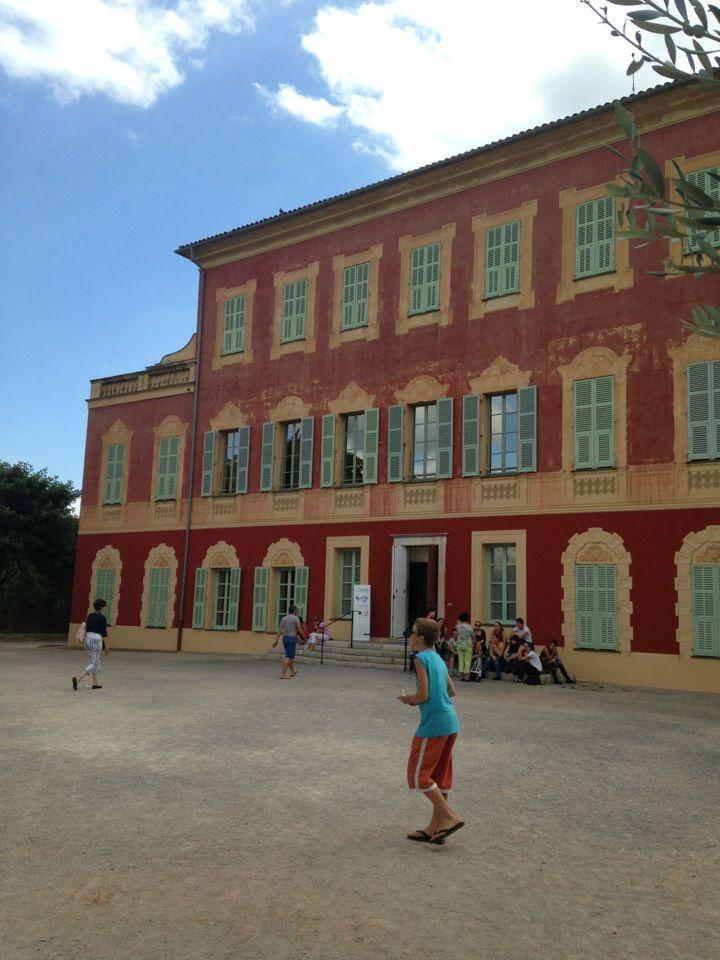 Henri Matisse Museum!!  Nice, France