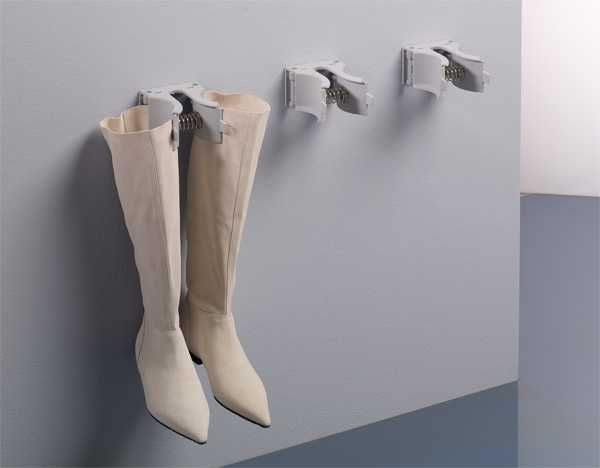 shoe storage hooks