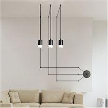 Luces Colgantes de araña Retro Loft Negro Ajustable Vintage Lámparas de Techo Lámpara de Techo Industrial luminaria E27 Edison Bombilla(China (Mainland))
