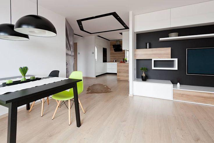 Salas de estar escandinavas por ap. studio architektoniczne Aurelia Palczewska-Dreszler