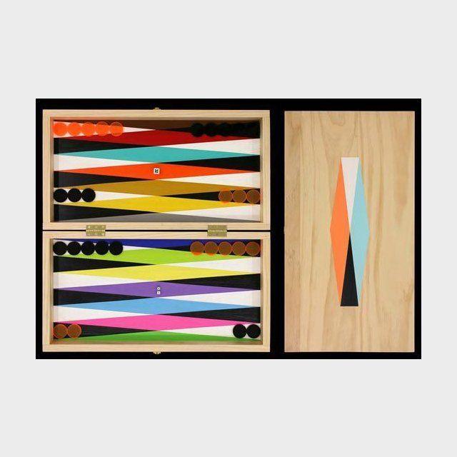 Fancy - ArtApartments Therapy, Backgammon Boards, Rainbows Backgammon, Jack Peterson, Boards Games, Ara Peterson, Plays, Neon Rainbows, Design