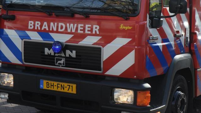 Duży pożar w sportowych obiektach w Sint Pancras #popolsku