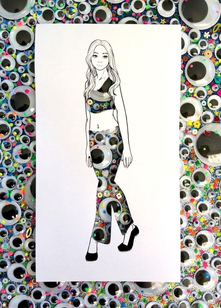 Fashion Illustration, Design, Brittany Glassey, Brittzay