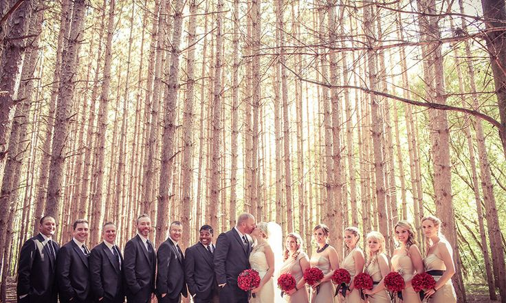Forests of Kortright, Ontario | Stunning vintage wedding photography by www.newvintagemedia.ca