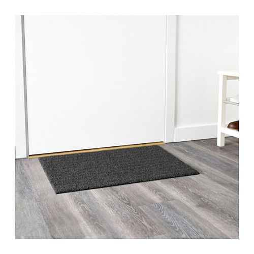 OPLEV Door mat IKEA The anti-slip backing keeps the door mat firmly in place and…