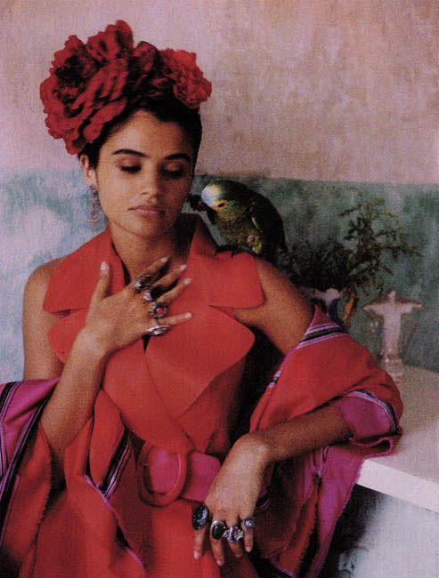 Helena, Salvador de Bahia Marie Claire France, 1994 by Chico Bialas