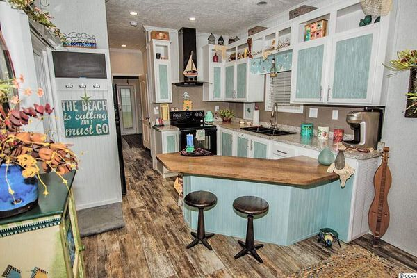 Beach Theme Decor Ideas For Your Mobile Home Beach Theme Kitchen