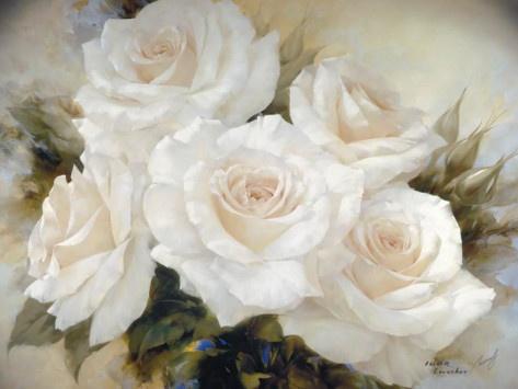 White Roses by Igor Levashov
