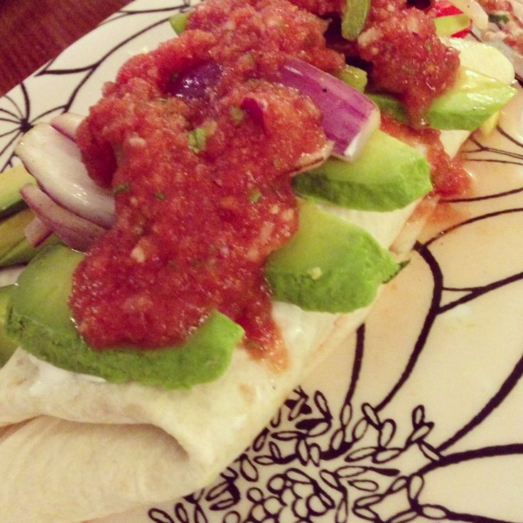 ... refried beans toast with refried beans and avocado vegan recipe