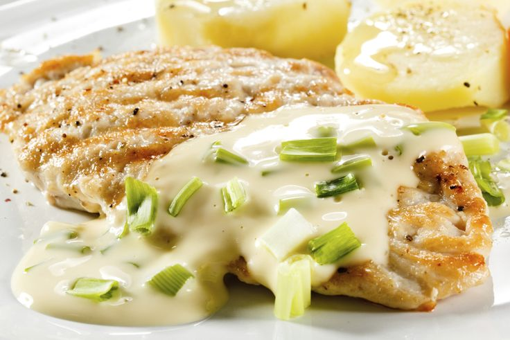 Exquisitas supremas de pollo a la suiza