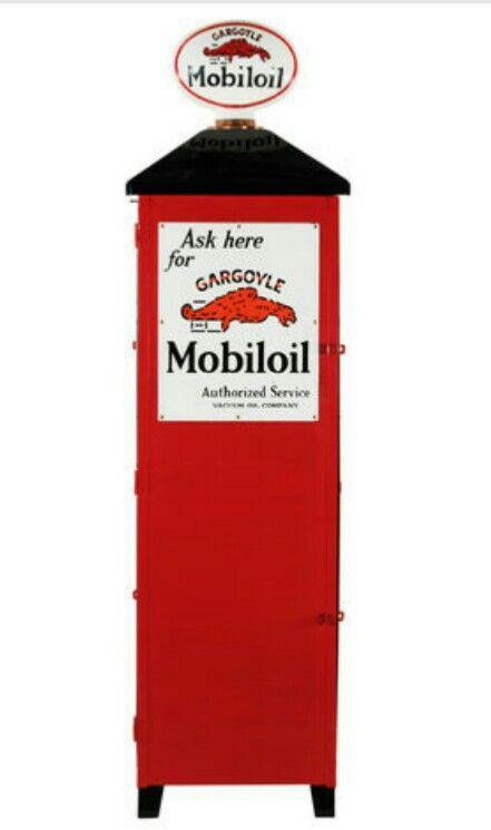 Original Mobiloil Cabinet