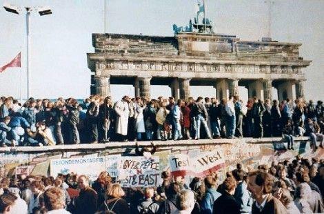 Val van de Berlijnse Muur - Op 9 november 1989