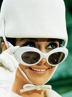 Audrey in 1960's Mod fashion