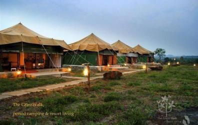Tents at The Grass Walk, Andhra Pradesh, India