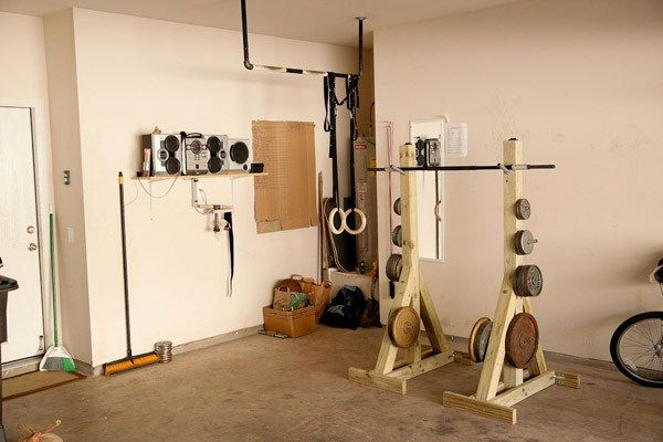 No money No problem DIY squat rack