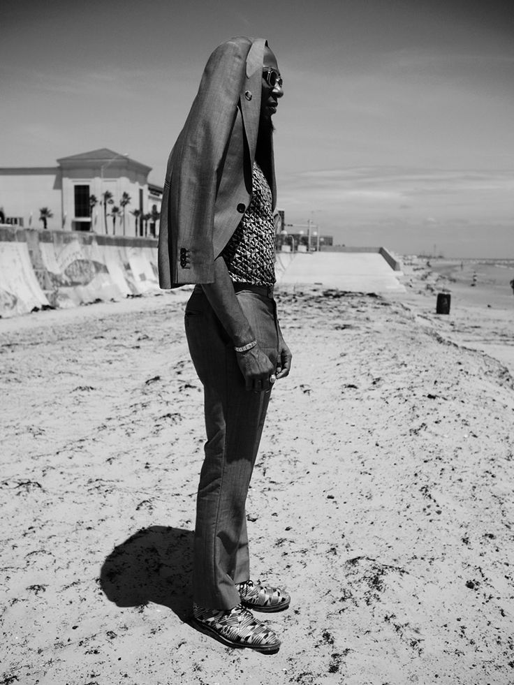 Mos Def, alias Yasiin Bey stars in the Fall/Winter 2012-13 campaign of Adrien Sauvage.