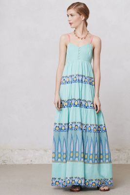 Ocean Waves Maxi Dress from Anthropologie