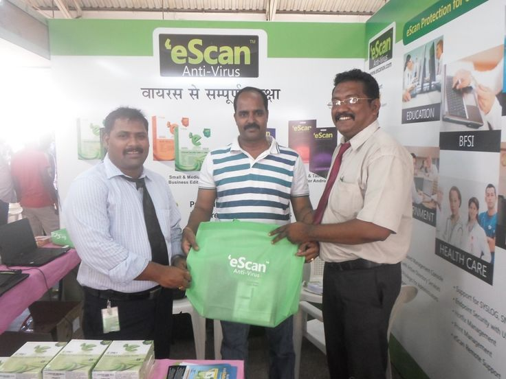 eScan @ EdITA #Computer #Exhibition – 2013  - #Tamil Nadu, #India