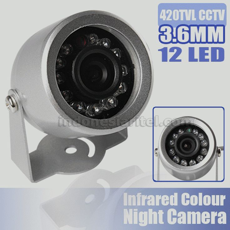 12 Led IR Wired Mini Outdoor CCTV Color Video CCD Weterproof Camera AA0056-0003