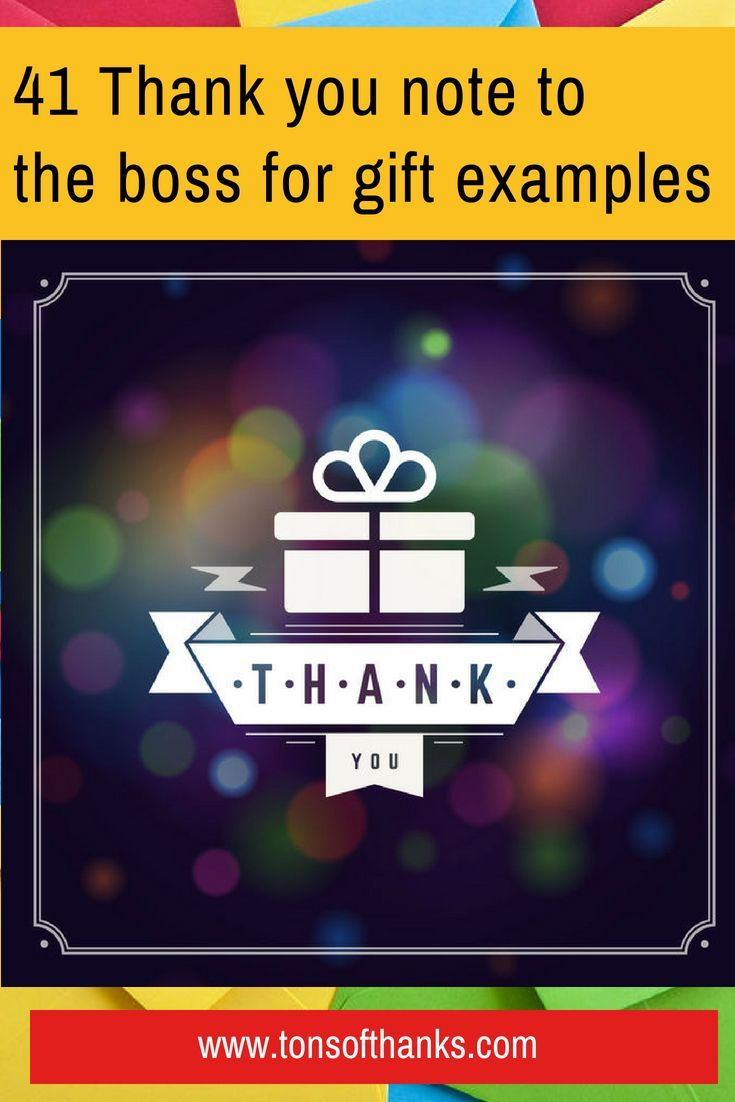 Thank You Message To Boss For Gift : thank, message, Thank, Examples, Examples,, Card,, Notes