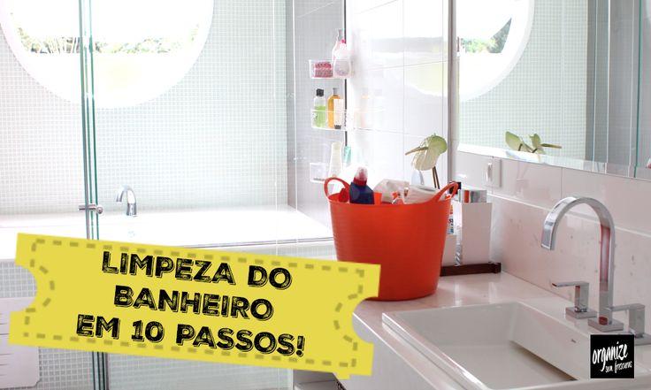 Nada como um banheiro limpinho, não é verdade? No vídeo, eu mostro10 passos para você limpar e manter-lolimpo e perfumado sempre! Vem ver!   Produtos usados: Detergente Neutro Concentrado Produto com Cloro: Vim Cloro Gel Limpador e desinfetante: Pato 5 em 1 Sapóleo Cremoso Limpado de Vidros: Vidrex Panos Semidescartáveis Scotto Duramax Espero que […]