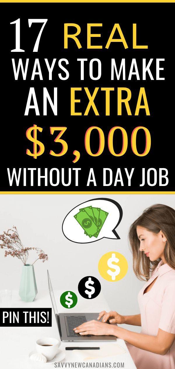 17 echte Möglichkeiten, in Kanada von zu Hause und online zusätzliches Geld zu verdienen – Ways To Make Extra Money