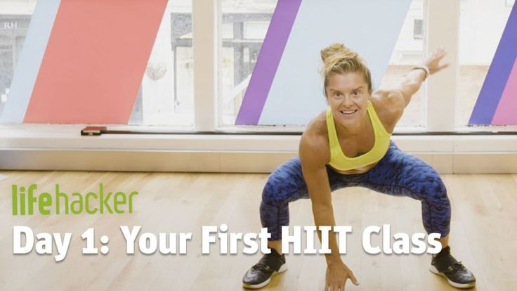 """HIIT—or High Intensity Interval Training, for the uninitiated—is one of the trendiest exercise programs out there at the moment, but getting started as a first-timer can be daunting, to say the least. (""""High intensity"""" has a way of making a workout sound"""