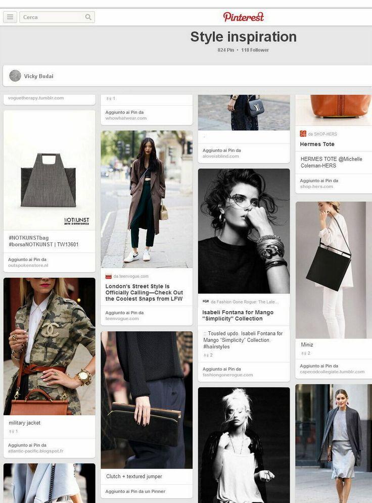 Notkunst bag on Style Inspiration, thanks to Vicky Budai #MFW @vichybudai @outspokenstore