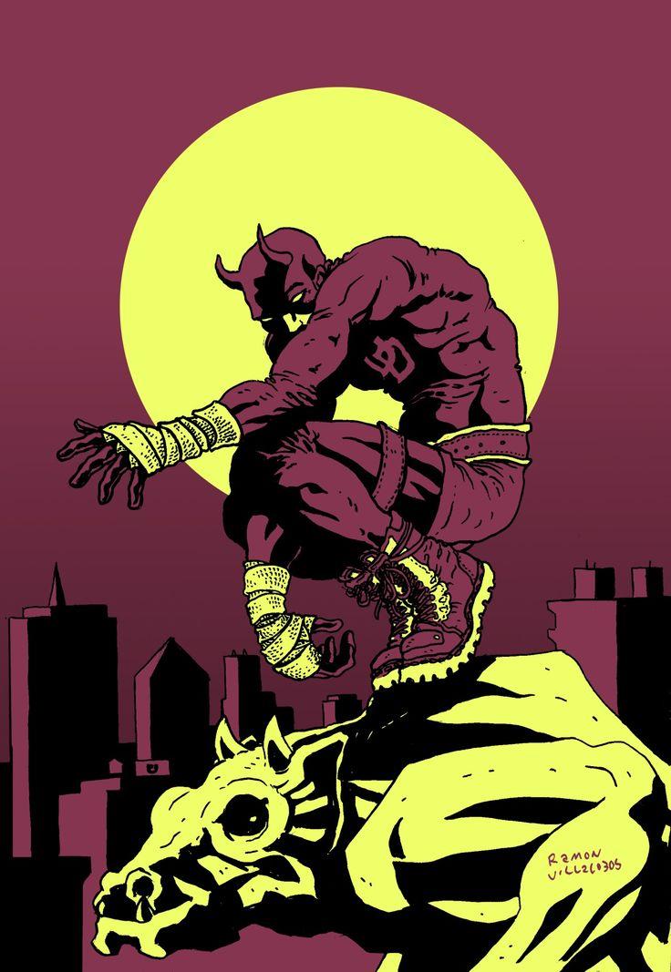 Daredevil (By: #RamonVillalobos)