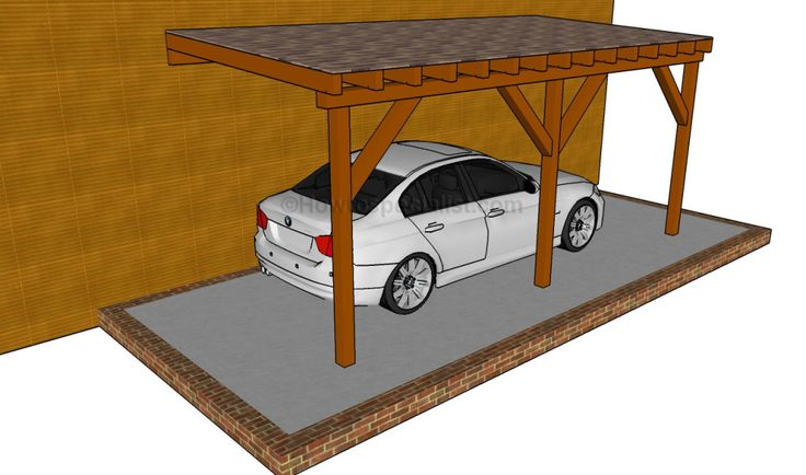 The 25 best attached carport ideas ideas on pinterest for Attached garage kits