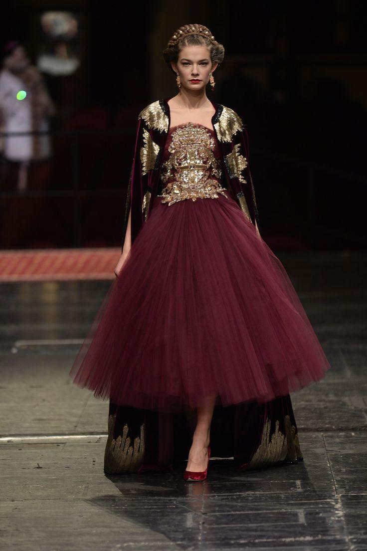 Défilé Dolce & Gabbana Alta Moda Haute Couture printemps-été 2016 34