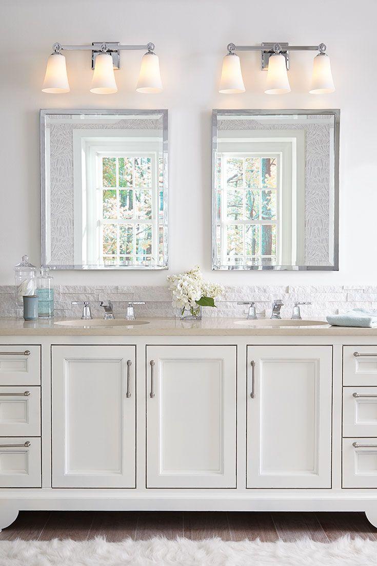 Bathroom Vanity Glass Shades 116 best bathroom lighting ideas images on pinterest | bathroom