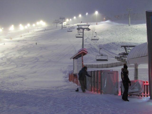 Main ski slope, Levi, Kittila, Lapland, Finland, Arctic Circle, North Pole